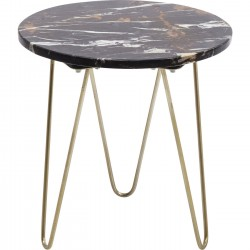 Table d'appoint Key Largo marron 35cm Kare Design