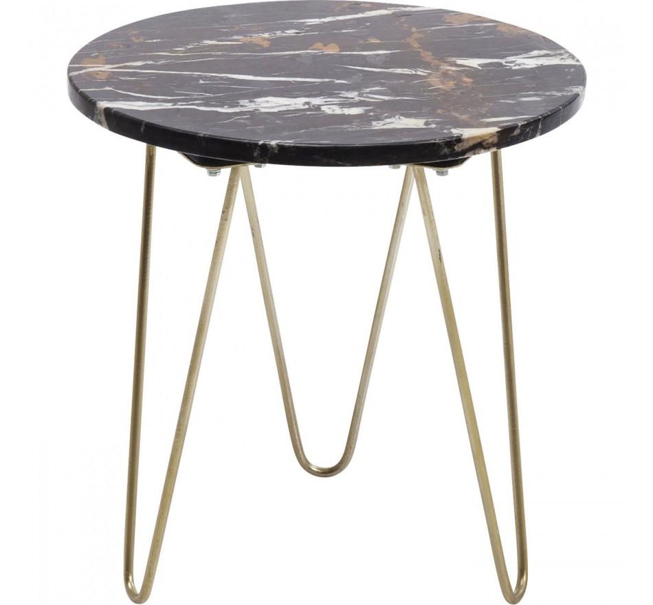Table d'appoint Key Largo marron 35cm Kare Design