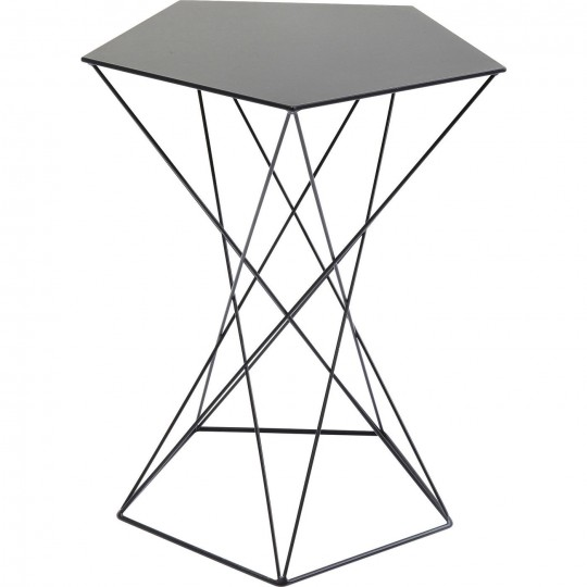 Table d'appoint Miami Wire 42cm Kare Design