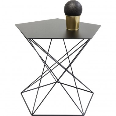 Table d'appoint Miami Wire 60cm Kare Design