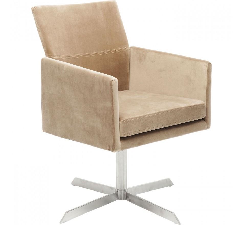 fauteuil de bureau contemporain beige dialog kare design. Black Bedroom Furniture Sets. Home Design Ideas