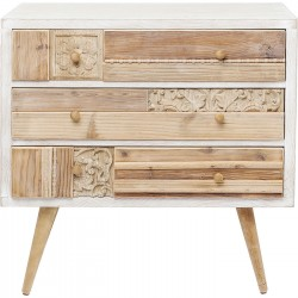 Commode Davos 3 tiroirs Kare Design