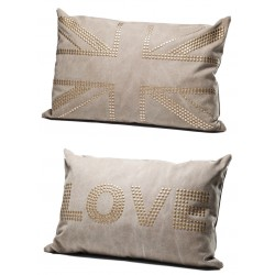 Coussin Love Studs Marron 40x60 cm Kare Design