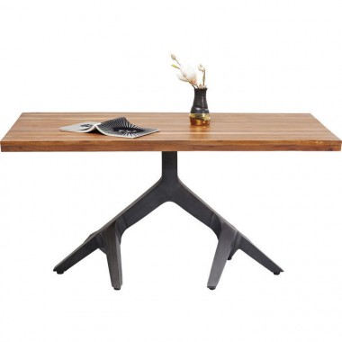 Table Roots Dark 180x90cm Kare Design