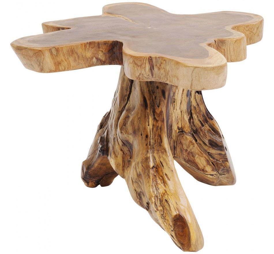 Table d'appoint souche d'arbre 63cm Kare Design