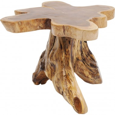 Table d'appoint souche d'arbre 63cm Kare Design