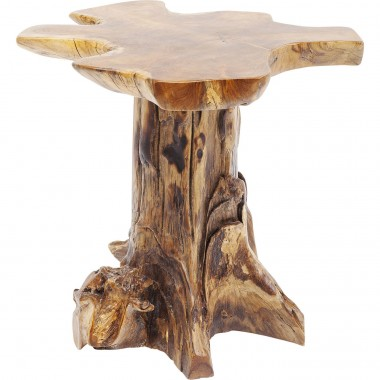 Table d'appoint souche d'arbre 58cm Kare Design
