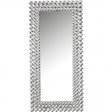 Miroir Diamond Fever rectangulaire 162x78cm Kare Design