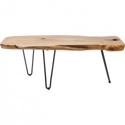 Table basse Aspen nature 100x40cm Kare Design