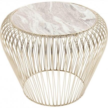 table d 39 appoint dor e en marbre beam kare design. Black Bedroom Furniture Sets. Home Design Ideas