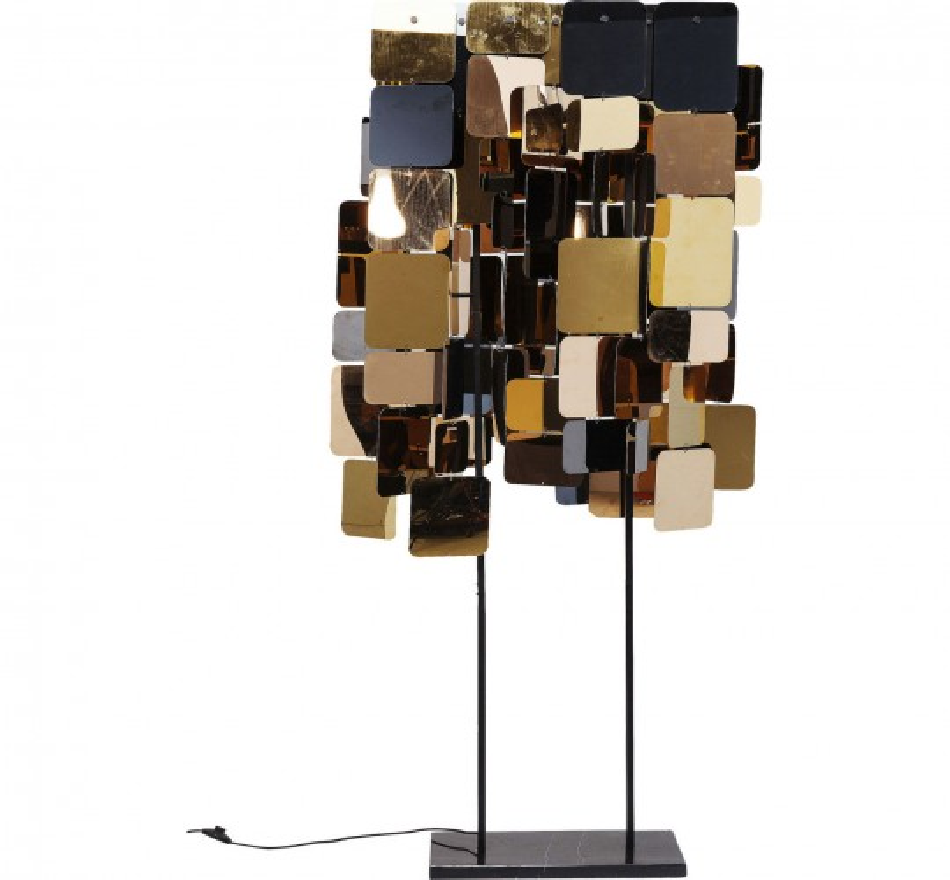 Lampadaire City Nights Squares 70cm Kare Design