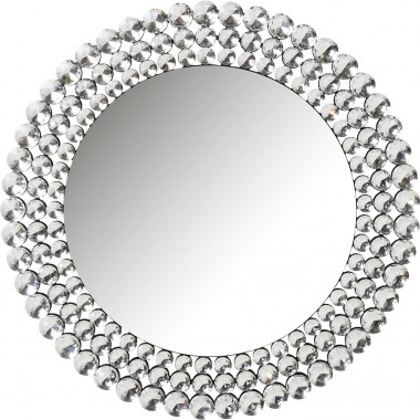 Miroir Diamond Fever rond 100cm Kare Design