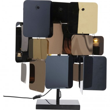 Lampe de table City Nights Squares Kare Design