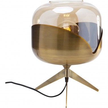 Lampe de table Golden Goblet Ball Kare Design