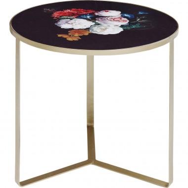 Table d'appoint Fleurs 45cm Kare Design