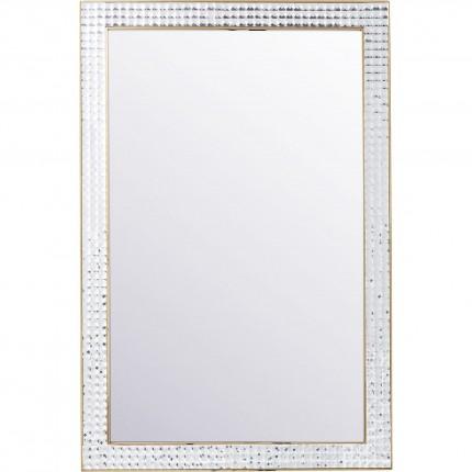 Miroir Crystals doré 120x80cm Kare Design