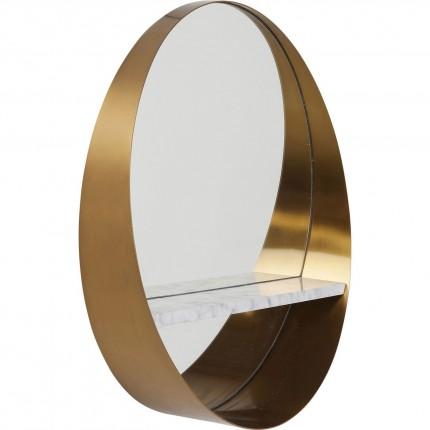 Miroir Hipster étagère 65cm Kare Design