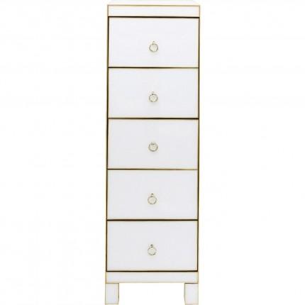 Chiffonnier Gracioso 5 tiroirs Kare Design