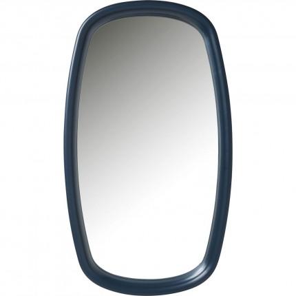 Miroir Salto pétrole 110x44cm Kare Design