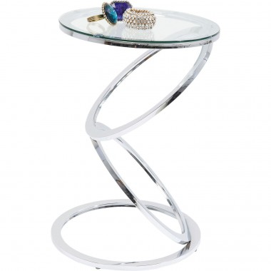 Table d'appoint Miami Rings 45cm Kare Design