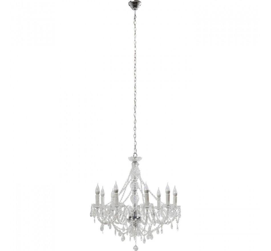 Lustre Gioiello Transparent 9 branches Kare Design