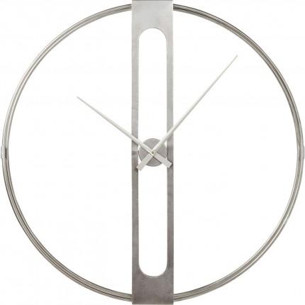 Horloge murale Clip Silver 107cm Kare Design