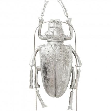 Déco murale Longicorn Beetle argentée Kare Design