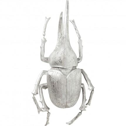 Déco murale Herkules Beetle argentée Kare Design