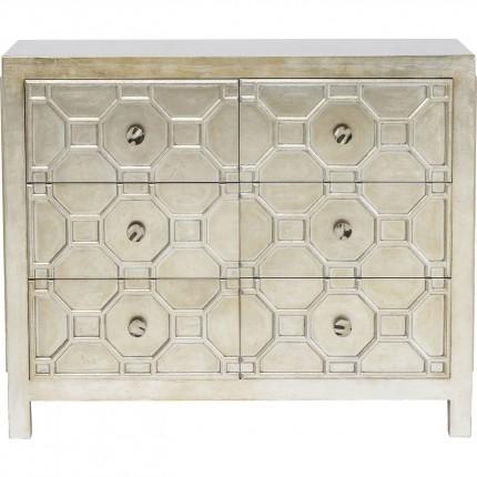 Commode Alhambra 6 tiroirs Kare Design