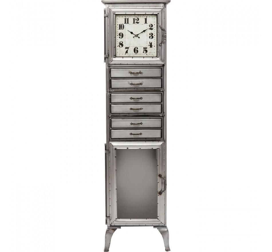 Rangement avec horloge Thinktank Time Kare Design