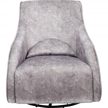 Fauteuil à bascule Ritmo Moove vintage gris Kare Design