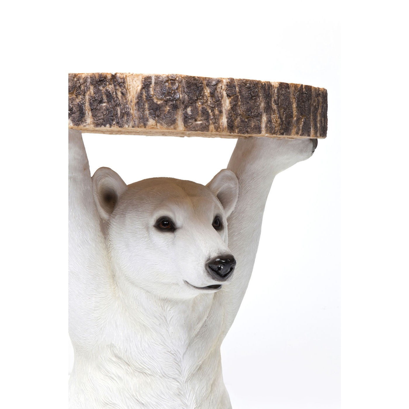 Table d'appoint Animal Ours Polaire Kare Design