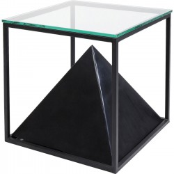 Table d'appoint Pyramide 45x45cm Kare Design