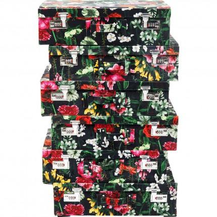 Chiffonnier Suitcase Fleurs Kare Design