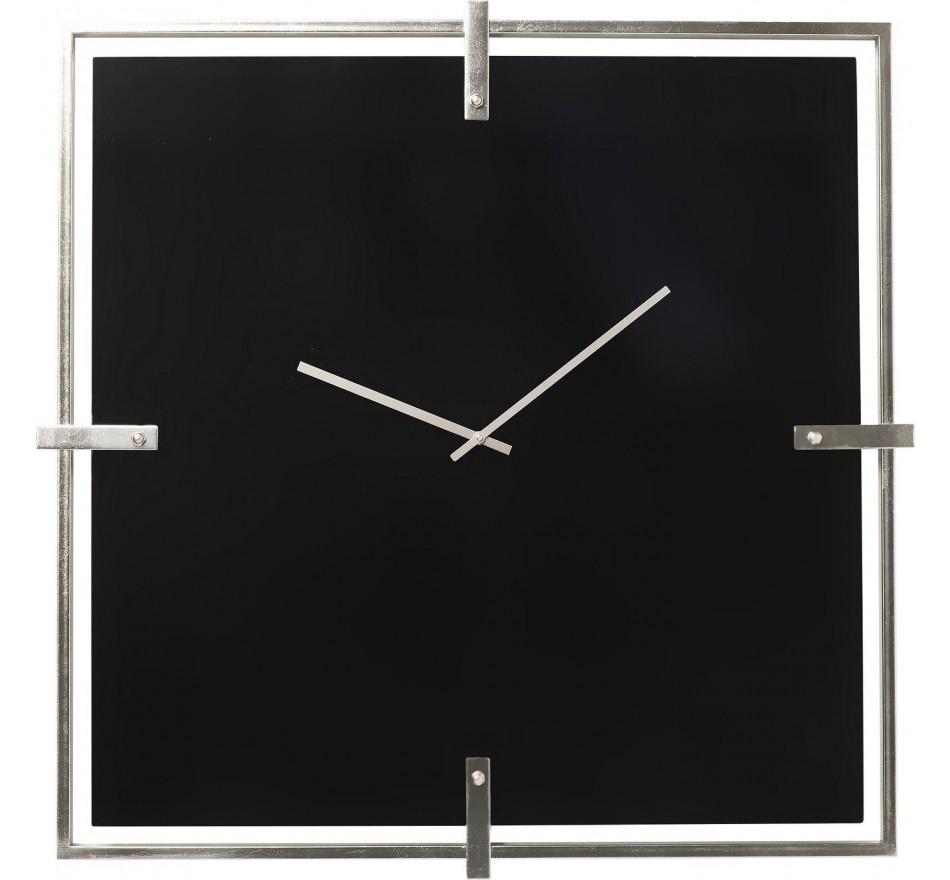 Horloge murale Black Mamba Chrome