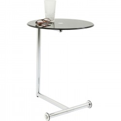 Table d'appoint Easy Living noire Kare Design