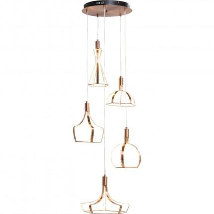 Suspension Foggia 5 LED Kare Design