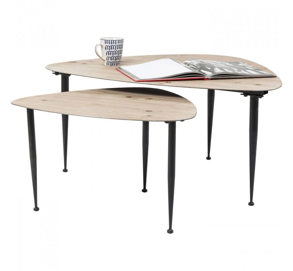 Tables basses Melange (set de 2) Kare Design