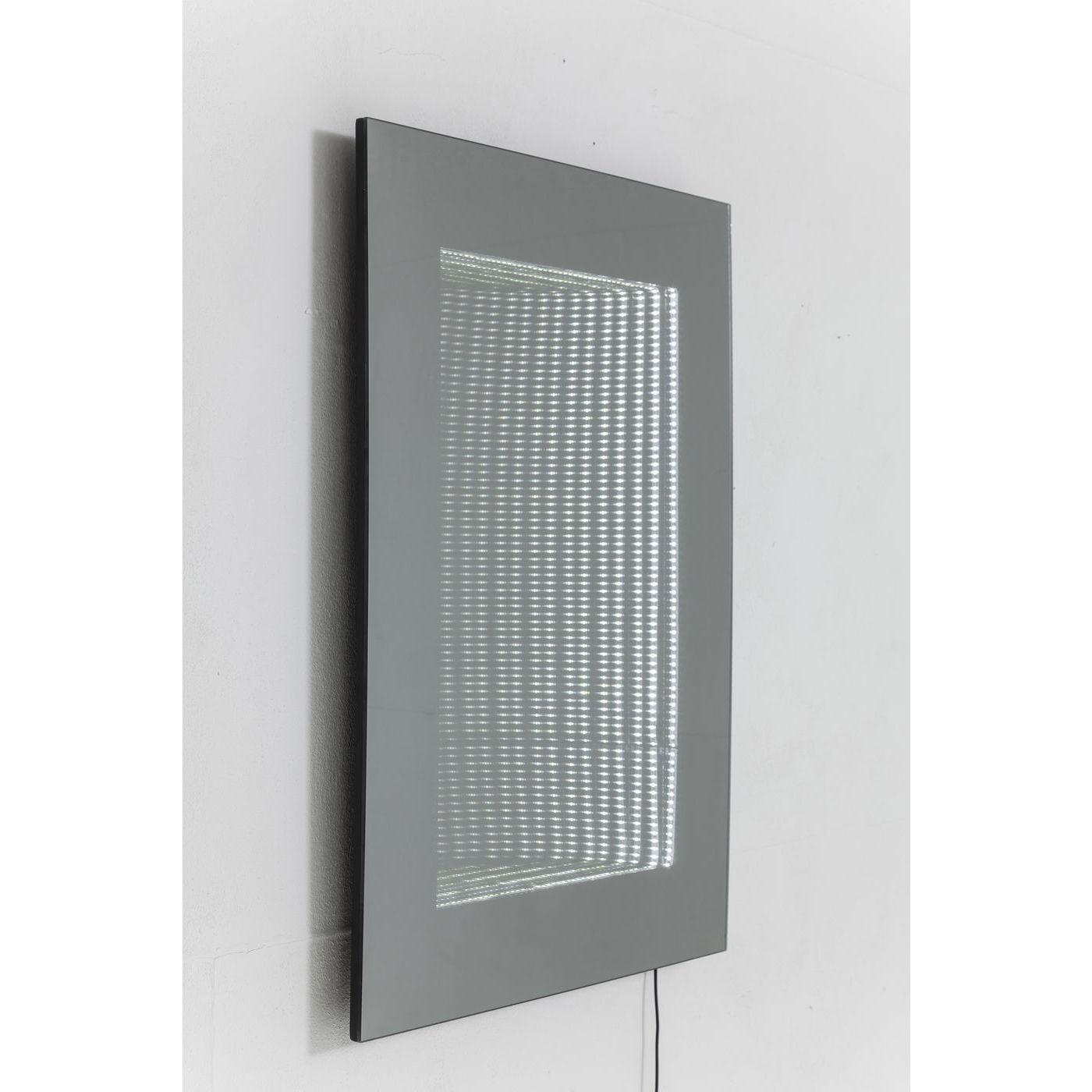 Miroir Tube 80x60 cm LED Kare Design