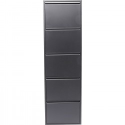 casier chaussures gris caruso 3 tiroirs kare design. Black Bedroom Furniture Sets. Home Design Ideas