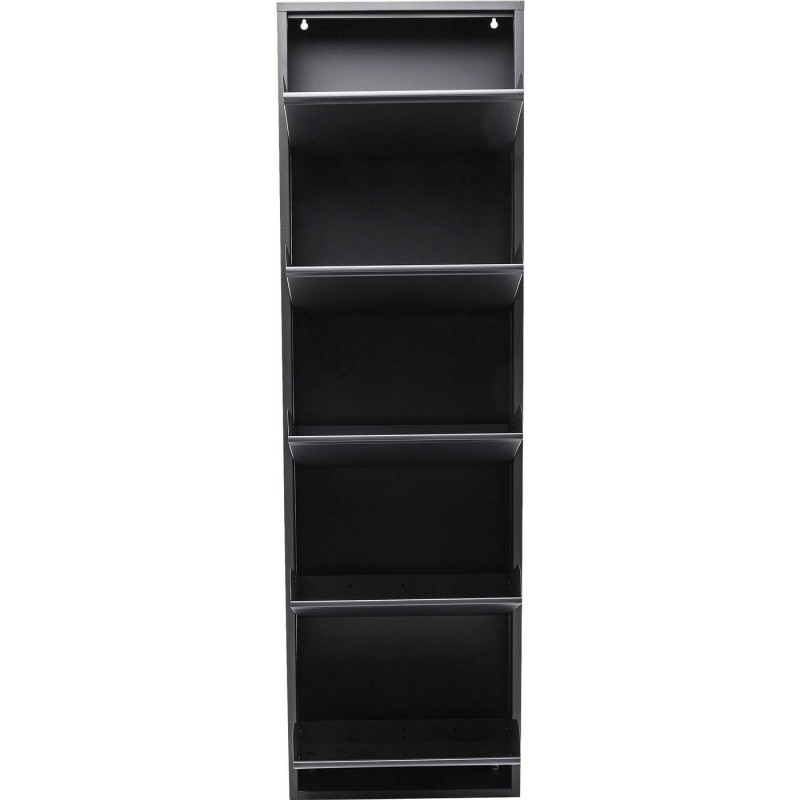 casier chaussures gris caruso anthracite 5 tiroirs. Black Bedroom Furniture Sets. Home Design Ideas