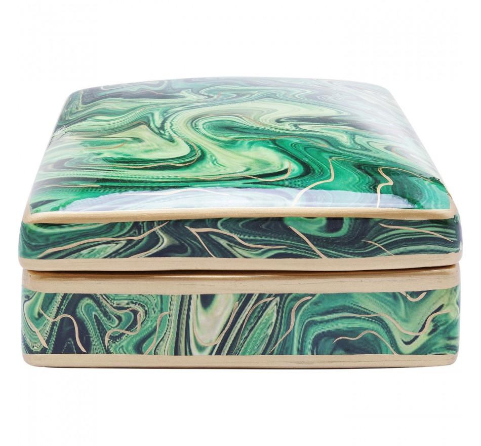 Boîte Malachite 9cm Kare Design