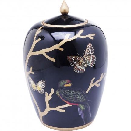 Boîte orientale oiseau et papillons 29cm Kare Design