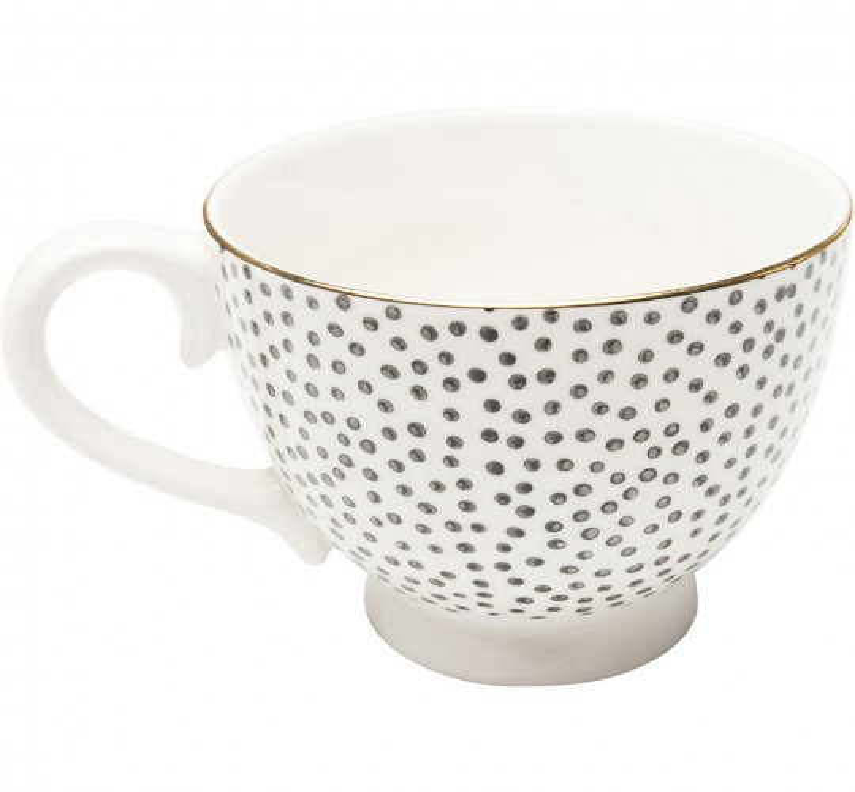 Tasses Dotty Rim set de 4 Kare Design