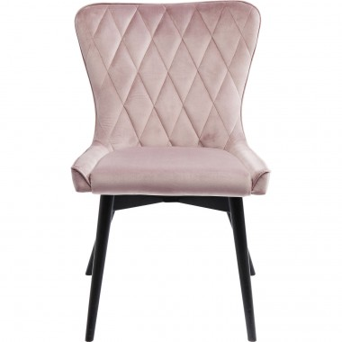 Chaise Marshall velours rose Kare Design