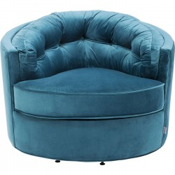Fauteuil Music Hall turquoise Kare Design