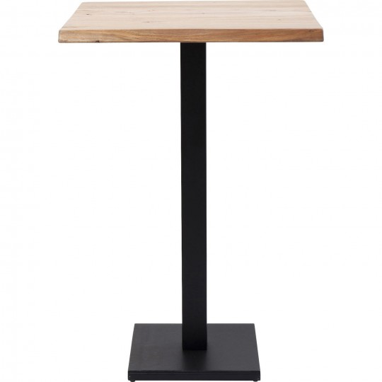 Table de bar Noire Nature Kare Design