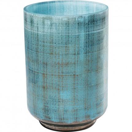 Vase Jute bleu clair 20cm Kare Design