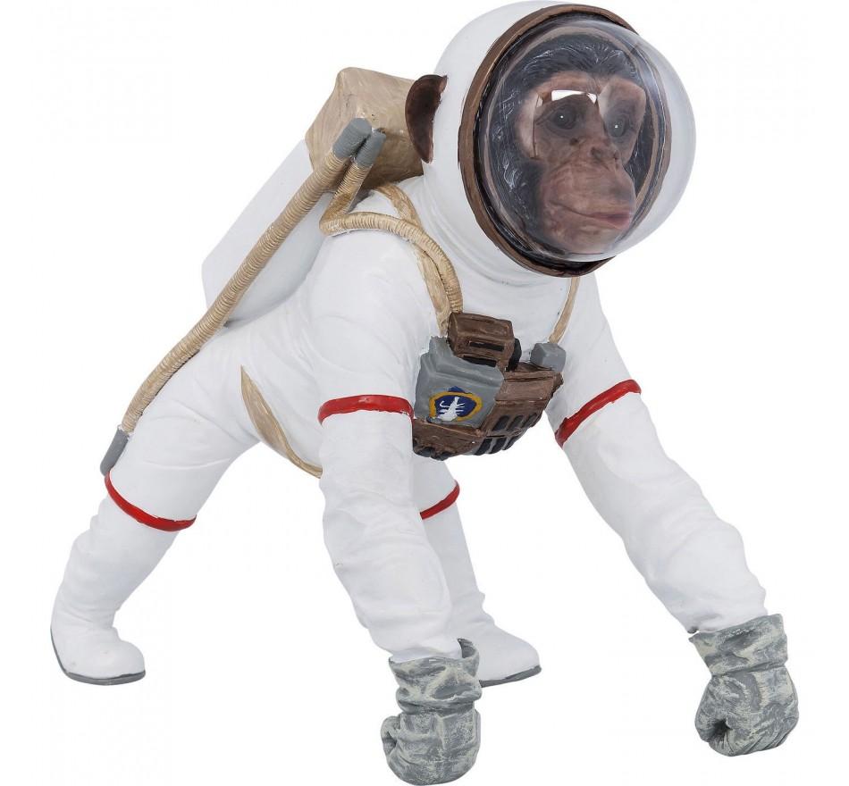 Déco singe astronaute 32cm Kare Design