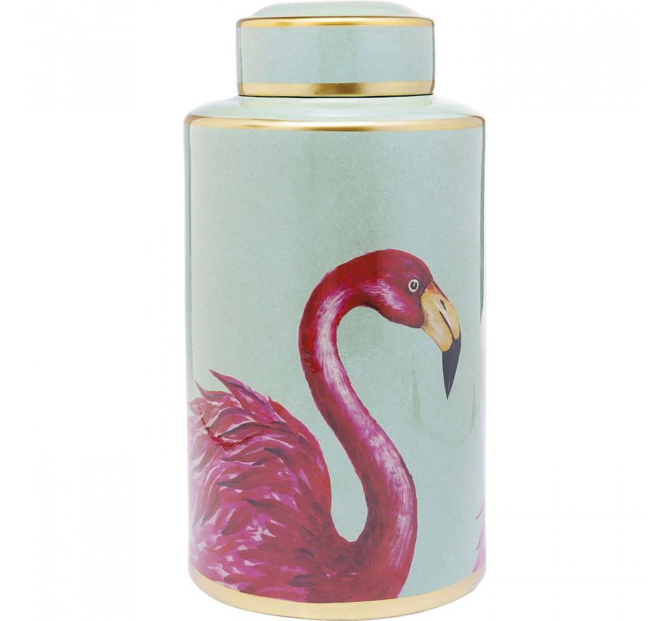 Boîte Flamant rose 39cm Kare Design